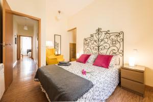 Ein Zimmer in der Unterkunft Apartamento Jardines