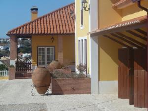 A porch or other outdoor area at Casa Agricola Quinta Da Junqueira