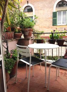 Luxury Terrace Studio in Trastevere