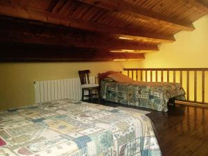 A bed or beds in a room at Paller Cal Melsio