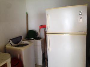 Una cocina o zona de cocina en Apartamento Rodadero