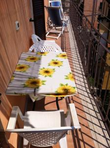 A porch or other outdoor area at Apartment Storico