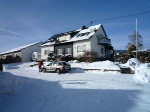 Ferienwohnungen Engelsgaertchen im Winter