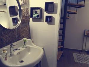Uma casa de banho em Abrigo do Mezio - Country House