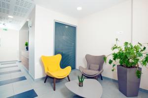 Hall ou réception de l'établissement Séjours & Affaires Paris Bagneux