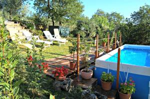 A view of the pool at Casa Paola or nearby