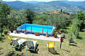 The swimming pool at or near Casa Paola