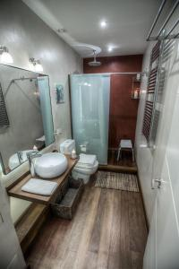 O baie la Apartament Świętojerska 24