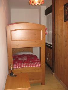 Letto o letti a castello in una camera di Bruno PH