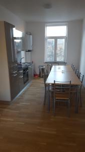 A kitchen or kitchenette at Residence Muken 3