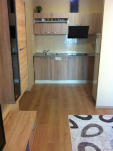 A kitchen or kitchenette at Apartment in the Old Town