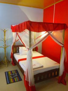 Ein Bett oder Betten in einem Zimmer der Unterkunft The Bright Star Resort
