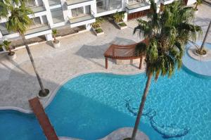 A view of the pool at Aqua Apartment or nearby