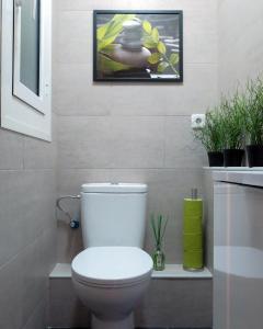 A bathroom at Quirón Apartment