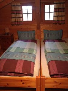 A bed or beds in a room at Fravgia veglia
