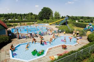 A view of the pool at Chaletrent - Camping de Hondsrug Eext or nearby