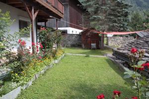 A garden outside Fravgia veglia