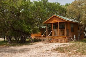 Medina Lake Camping Resort Cabin 4, Lakehills, TX ...