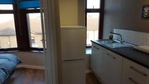 A kitchen or kitchenette at Dragon - Dumbarton Apartment 2 Bedroom Home