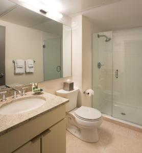 A bathroom at Oakwood at 234 Newbury