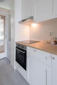 Una cocina o zona de cocina en Appartement Zandvoort