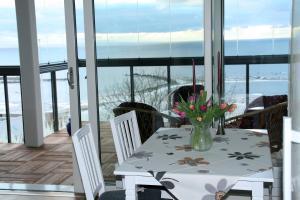 En restaurang eller annat matställe på Visby Snäck Havsutsikt