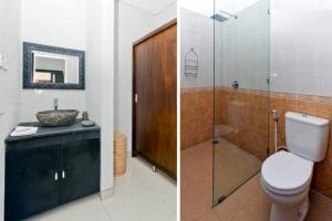 A bathroom at Agung Rakas