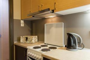 A kitchen or kitchenette at Frantzi Apartment