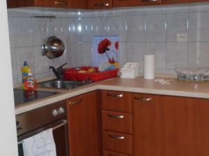 A kitchen or kitchenette at Maja's Apartment