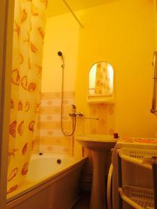 Ванная комната в Apartment on Galeeva 23-301
