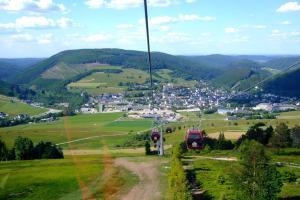 A bird's-eye view of Kleines Glück in Willingen