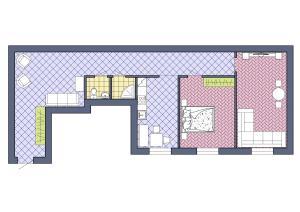 Apartments on Kirochnaya 3