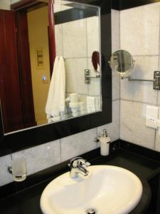 A bathroom at Iliovasilema