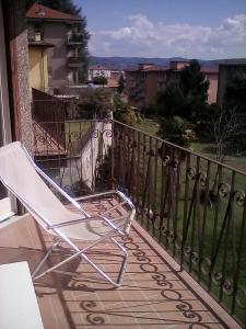 A balcony or terrace at casa luminosa