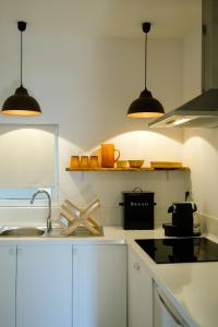 A kitchen or kitchenette at The Green House