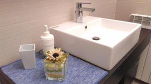 A bathroom at Apartments Mari
