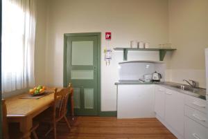 A kitchen or kitchenette at Ballarat Station Apartments
