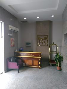 The lobby or reception area at Awali Rose- Awali District Makkah