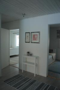 A television and/or entertainment center at Kuurala apartment