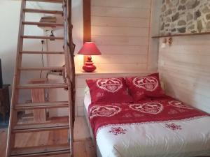 Un ou plusieurs lits dans un hébergement de l'établissement Gallinette