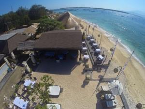 A bird's-eye view of Kokomo Resort