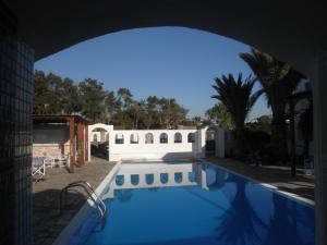 The swimming pool at or near Villa Clio