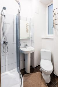 A bathroom at Apartment Bohdana Khmel'nyts'koho 17