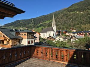 Ein Balkon oder eine Terrasse in der Unterkunft Chalet Herzklopfen