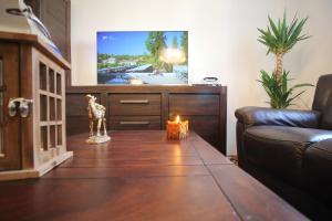 Ein Sitzbereich in der Unterkunft Apartment Marieta