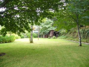 A garden outside Quinta Vinha