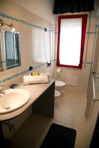 A bathroom at Casa Putti