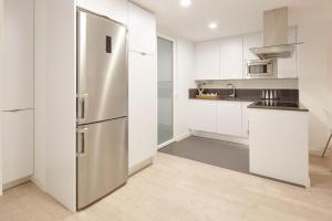 Una cocina o zona de cocina en Juan Sebastian