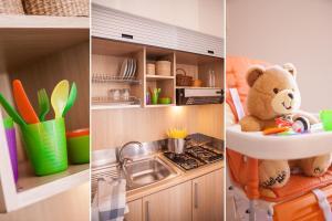 A kitchen or kitchenette at Il Borgo Della Rovere