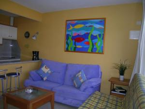 A seating area at Apartment Barbados A
